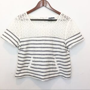 Anthropologie | Comme Toi Striped Top.
